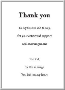 Thank You SLM